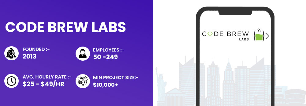 Code Brew Labs Blockchain Development agency in New York USA