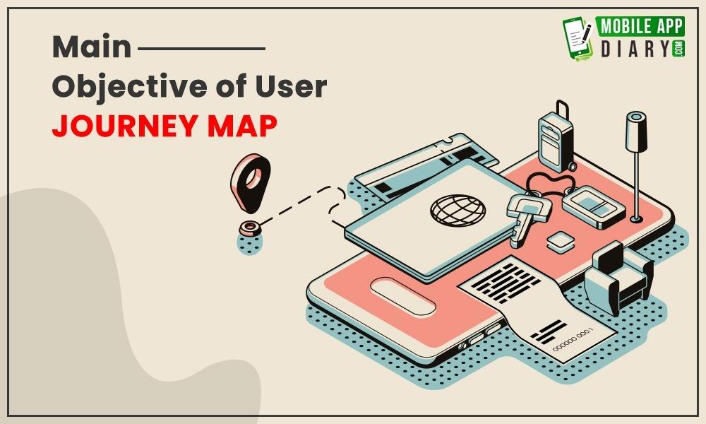 Mobile app Journey Map for user