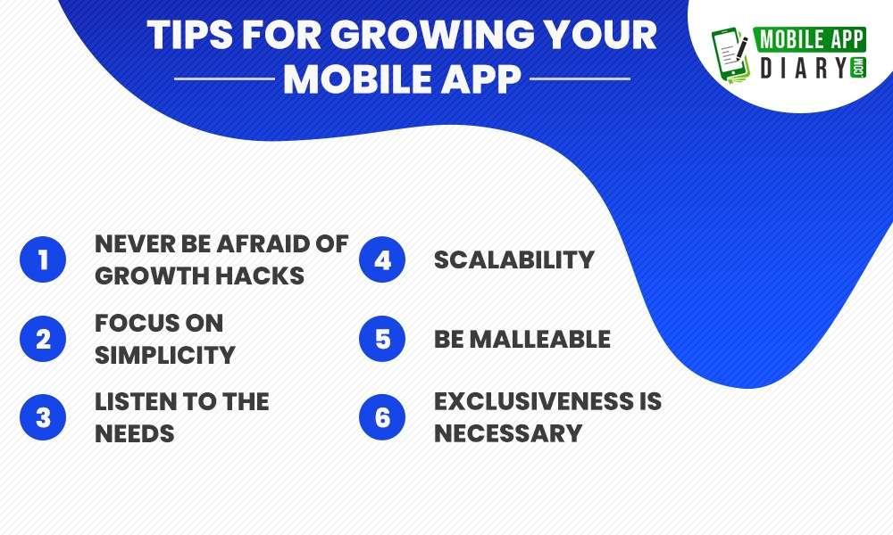 Tips for growing your mobile applications