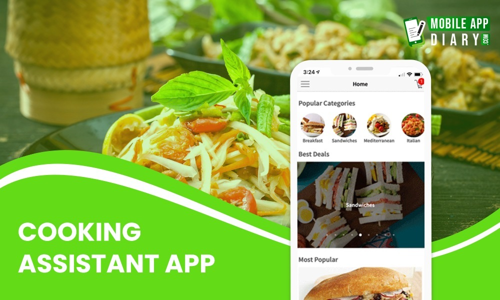 Cooking Assistant mobile app ideas to fuel your startups
