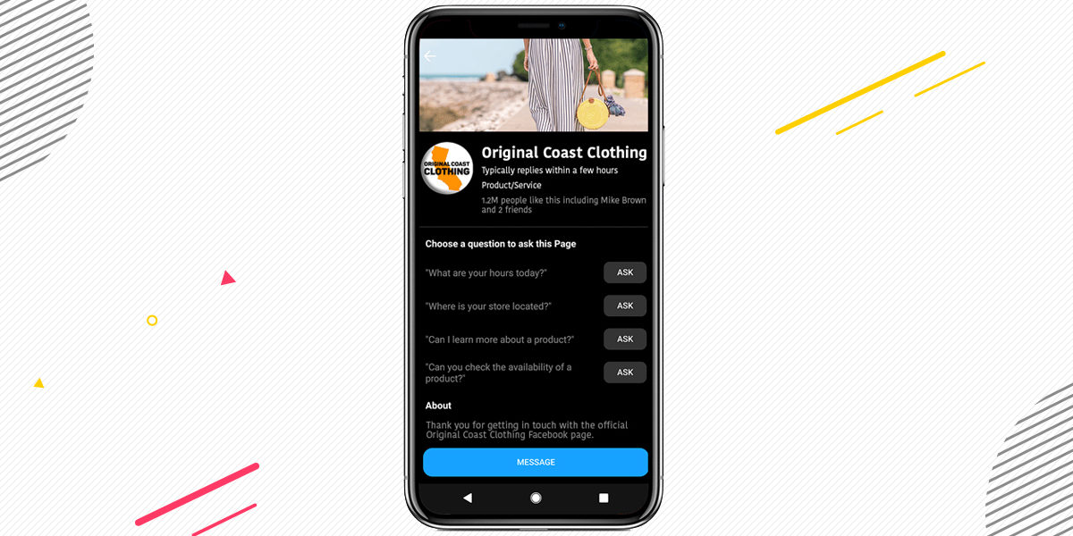 Brands on Facebook Messenger Gets Various New Features to Connect With Customers