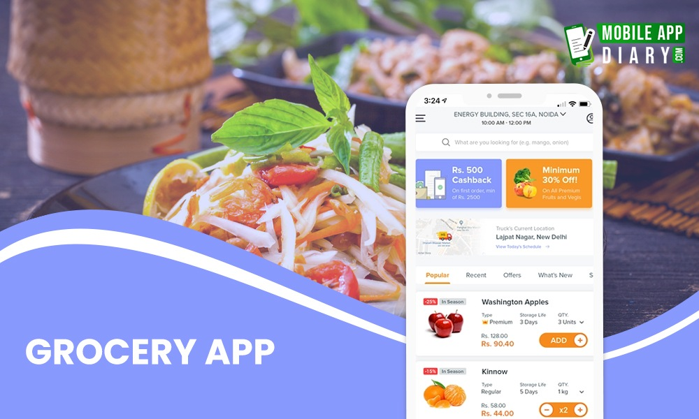 Grocery App mobile app ideas to fuel your startups