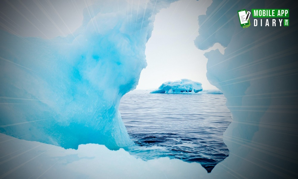 Immersion in the Virtual Reality of icy Arctic Ease