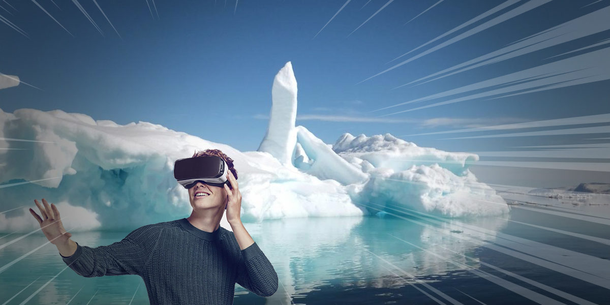 Immersion in the Virtual Reality of icy Arctic Ease People's Pain
