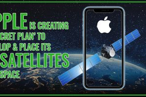 Apple Is Creating A 'Secret Plan' To Develop And Place Its Own Satellites Into Space