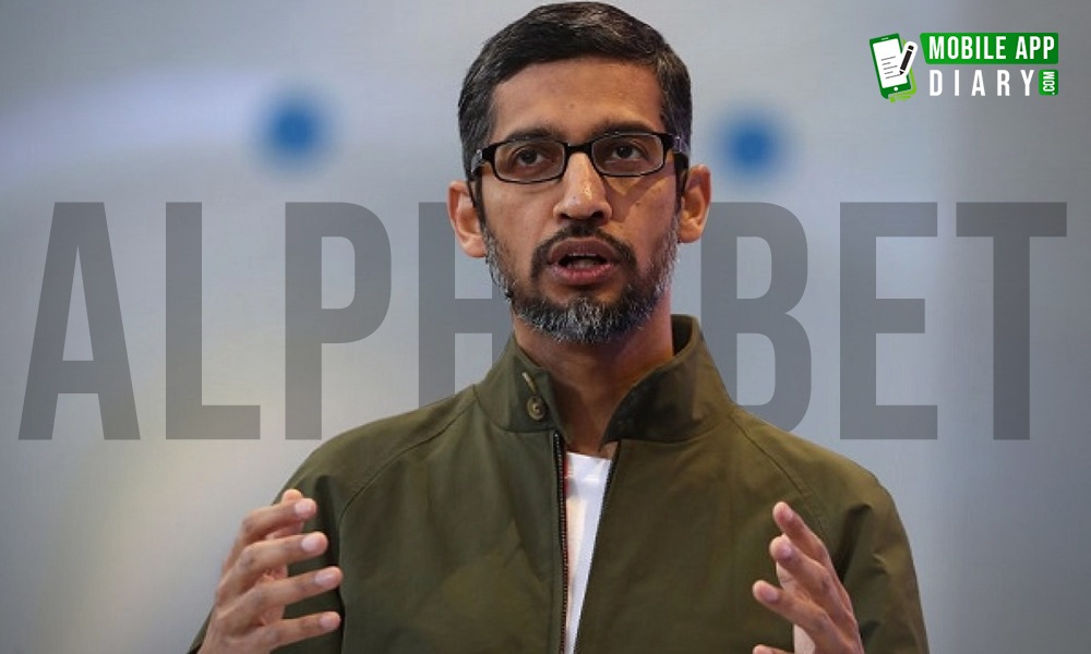 CEO Of Parent Company Alphabet Sundar Pichai