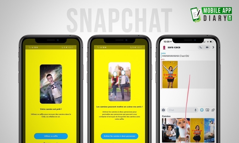 Cameo new snap chat Features Will Let You Slip Your Face into GIFs