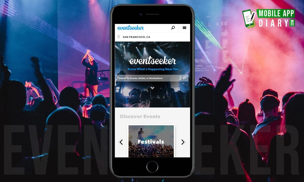 Eventseeker Concerts Near Me App