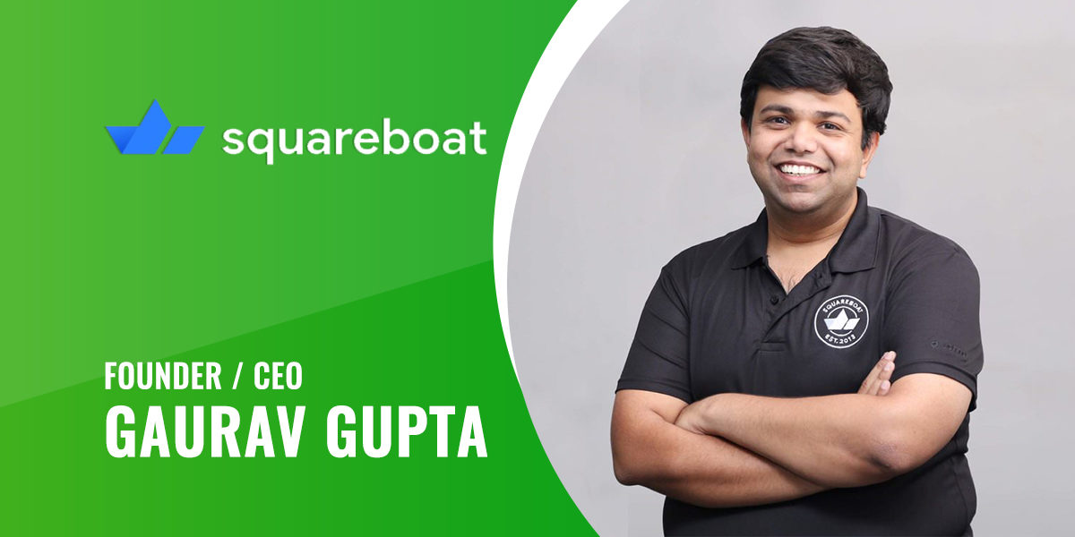 Interview With Squareboat's Founder & CEO 'Gaurav Gupta'