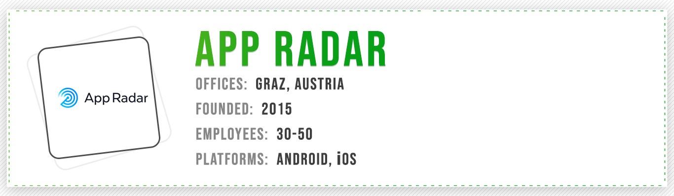 App Radar Best ASO Company