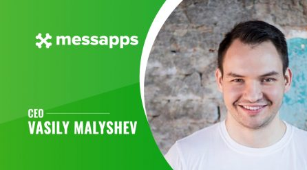 Messapps's CEO, Mr. Vasily Malyshev, Go Candid About His Journey So Far!