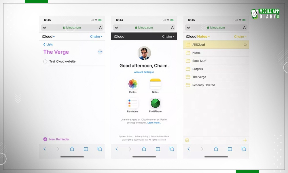 Apple's Latest Update iCloud for both iOS and Android