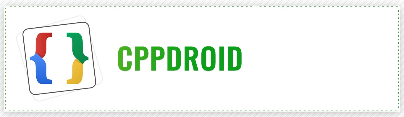 CppDroid Android App Development Tool