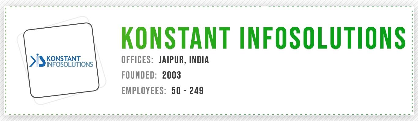Konstant Infosolutions iOS App Development Companies