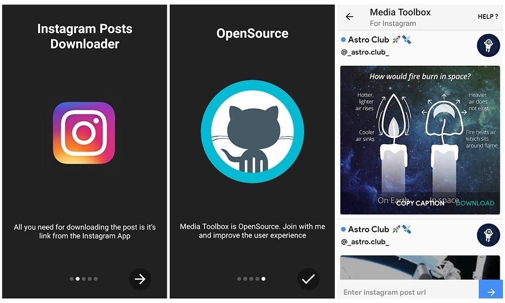 Media Toolbox Screens