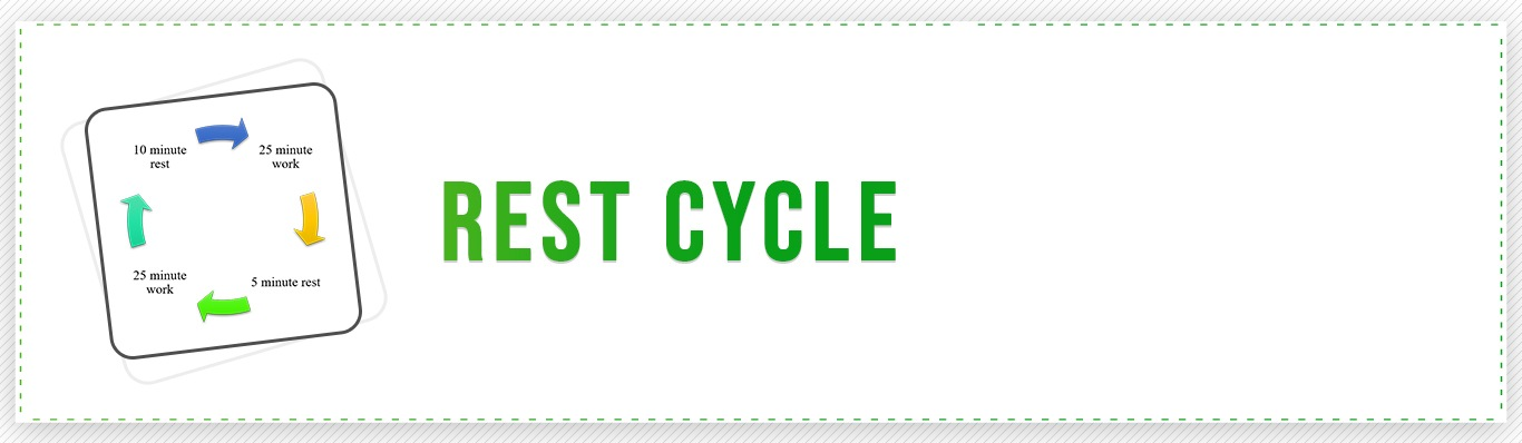 Rest Cycle App for iPhone on Apple Store