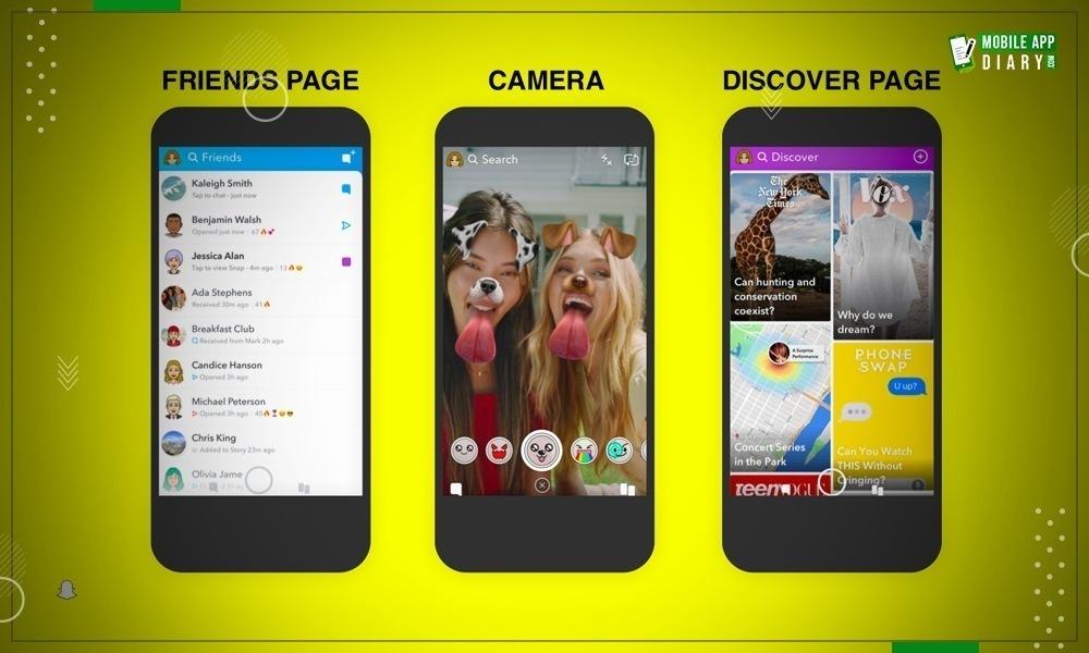Snapchat Testing Latest Redesign