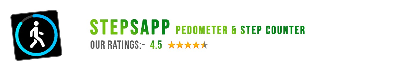 StepsApp Pedometer Review by Mobileappdiary