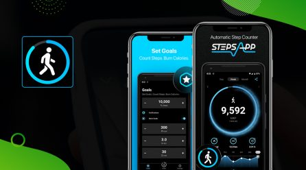App Review: Now Track Your Fitness with the Revolving StepsApp Pedometer