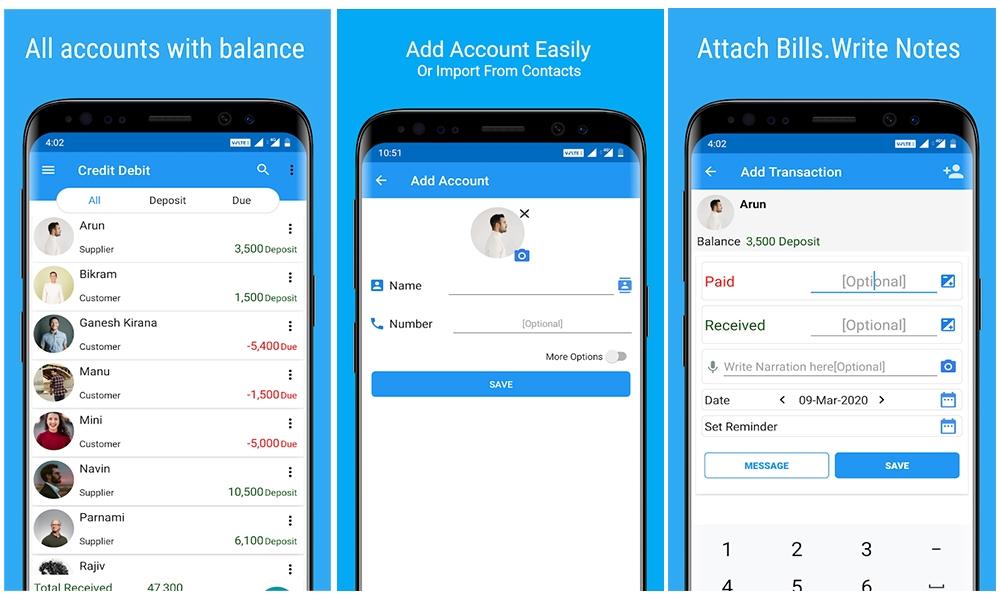 Credit-Debit-App