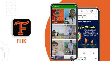 Flik -Indian Social Networking Social Media App