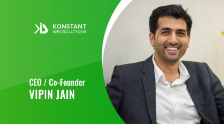 Interview with Vipin Jain, CEO of Konstant Infosolutions By MobileAppDiary
