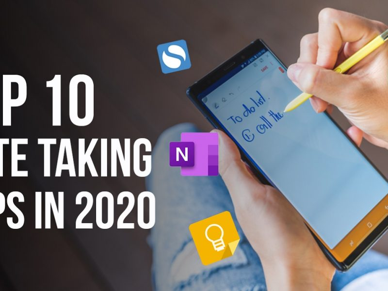 Top 10 Note Taking Apps In 2020