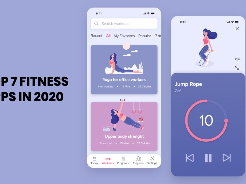 Top 7 Fitness Apps In 2020