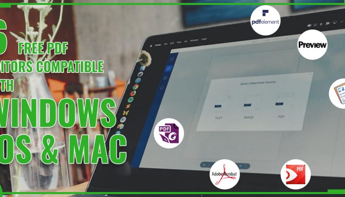 6 Free PDF Editors Compatible With Windows, iOS And Mac